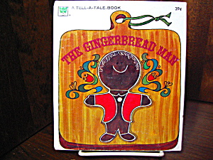 Whitman Book-the Gingerbread Man