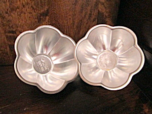 Vintage Wilton Blossom Flower Mini Cake Or Jello Mold