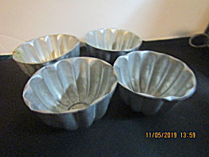 Vintage Mirro Like Cake Or Jello Molds