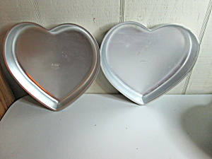 Wilton Vintage Happiness Heart Cake/cookie Pan
