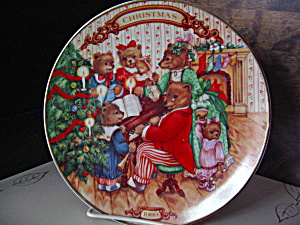 Avon 1989 Christmas Plate Together For Christmas