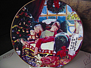 Avon 2000 Christmas Plate Christmas Dream