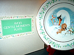 Avon Gentle Moments Plate