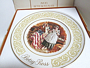Vintage Collector Avon Betsy Ross Plate