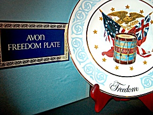 Avon Vintage Collector Freedom Plate