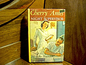 Vintage Cherry Ames Book #11 Night Supervisor