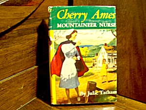 Vintage Cherry Ames Book #12 Mountaineer Nurse