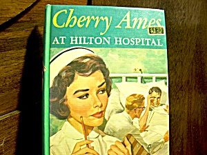Vintage Cherry Ames Book #20 At Hilton Hospital