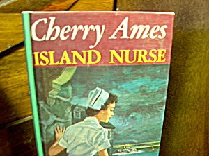 Vintage Cherry Ames Book #21 Island Nurse