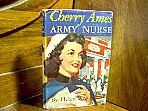 Vintage Cherry Ames Book #3 Army Nurse
