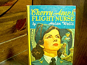 Vintage Cherry Ames Book #5 Flight Nurse
