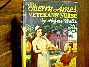 Vintage Cherry Ames Book #6 Veterans' Nurse