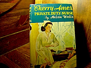 Vintage Cherry Ames Book #7 Private Duty Nurse