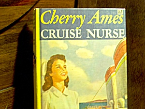 Vintage Cherry Ames Book #9 Cruise Nurse