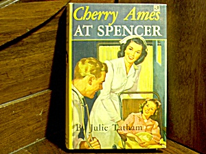 Vintage Cherry Ames Book #10 At Spencer