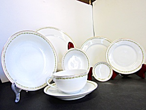 Dinnerware 32 Piece Set By Z,s & Co. Scherzer