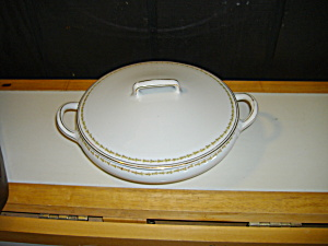 Vintage Z,s & Co. Scherzer Round Covered Serving Bowl