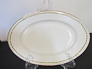 Vintage Z,s & Co. Scherzer Oval Serving Platter Small