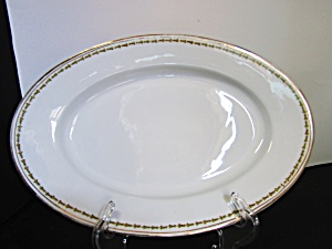 Vintage Z,s & Co. Scherzer Oval Serving Platter Medium