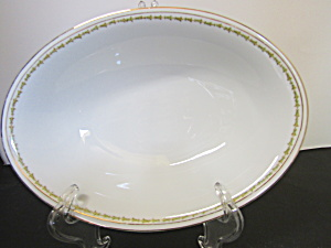 Vintage Z,s & Co. Scherzer Oval Serving Bowl