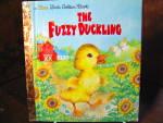 Click here to enlarge image and see more about item aflgb1b: Golden Book The Fuzzy Duckling
