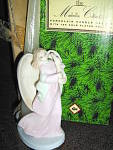 Click here to enlarge image and see more about item an3p: Angel Candle  Marbella Collection Collectible Figurine