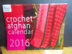 Click here to enlarge image and see more about item Annie2016: Annie's Crochet Afghan Calendar 2016  #2016