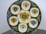 Click here to enlarge image and see more about item apwd17l: Germany Coat Of Arms Decorative Plate