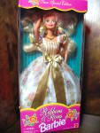 Click here to enlarge image and see more about item bafash1b: Ribbons and Roses Barbie