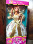 Click here to enlarge image and see more about item bafash1h: Ribbons and Roses Barbie