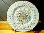 Click here to enlarge image and see more about item bafb2o: British Anchor Floral Bouquet Bread Plate