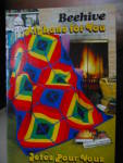 Click here to enlarge image and see more about item beehivea2f:  Beehive Afghans for You Booklet #7433