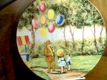 Click here to enlarge image and see more about item calhouns1n: Limited Edition Plate The Balloon Man