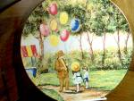 Click here to enlarge image and see more about item calhouns1v: Limited Edition Plate The Balloon Man