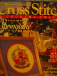 Click here to enlarge image and see more about item cscc4m: Cross Stitch & Country Crafts March/April 1994