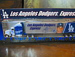Click here to enlarge image and see more about item ctruck10n: White Rose Los Angeles Dodgers Express Diecast Truck