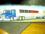 Click here to enlarge image and see more about item ctruck5n: Sunoco 1998 Collector's Edition Talking Tanker Truck