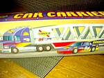 Click here to enlarge image and see more about item ctruck6n: Sunoco 1999 Collector's Edition Car Carrier