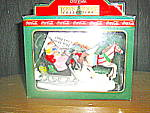 Click here to enlarge image and see more about item ctsc4g: Coca Cola Town Square Collectables Sleigh Ride