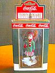 Click here to enlarge image and see more about item ctst7g: Coca Cola Town Square Collectables After Skating Girl