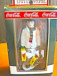 Click here to enlarge image and see more about item ctst8g: Coca Cola Town Square Collectables Stocking Up