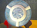 Click here to enlarge image and see more about item cuiv17l: Currier & Ives Ashtray