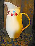 Click here to enlarge image and see more about item flark1d: Franciscan Larkspur Drinking Pitcher