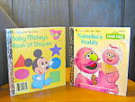 Click here to enlarge image and see more about item flgb10l: Baby Mickey's Book Of Shapes &  Natasha's Daddy