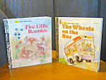 Click here to enlarge image and see more about item flgb8l: Five Little Bunnies & The Wheels On The Bus