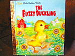 Click here to enlarge image and see more about item flgbk1l: Golden Book The Fuzzy Duckling