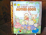 Click here to enlarge image and see more about item flgbk3l: Golden Book-My First Little Mother Goose