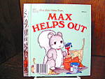 Click here to enlarge image and see more about item flgbk4l: Golden Book-Max Helps Out