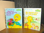 Click here to enlarge image and see more about item gbs4o: Big Bird's Day On the Farm & Brings Spring To Sesame St