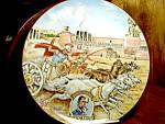 Click here to enlarge image and see more about item ghent1k: American Classics Ben Hur Collector Plate